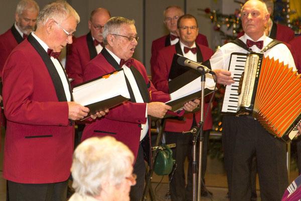 Es gibt sogar bayrische Weihnachtslieder ...