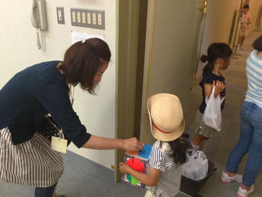 イベントにて募金活動(2015年5月)