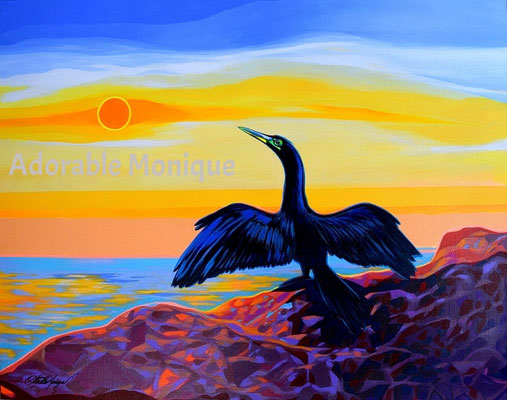 """""""State of Freedom"""" Acrylic on canvas"""