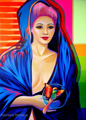 """Rebirth"" Acrylic on canvas"