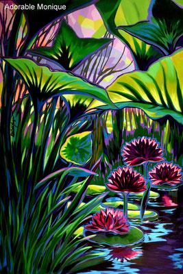 """ Wilderness"" Acrylic on canvas"