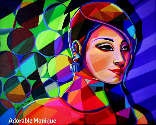 """""""Cosmic Endeavor"""" Acrylic on canvas"""