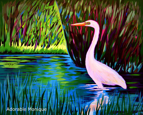 """""""Early Morning"""" Acrylic on canvas"""