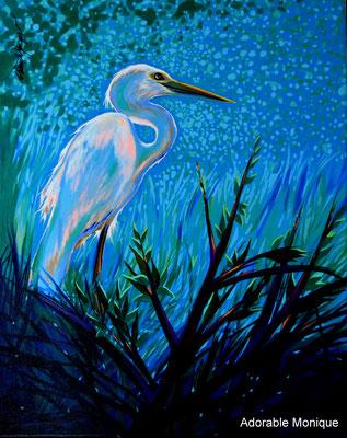 """ Starlight"" Acrylic on canvas"