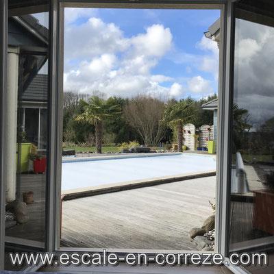La vue côté terrasse