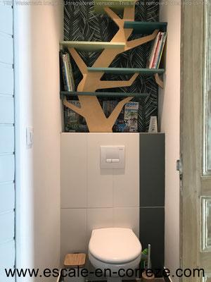 WC côté nature .