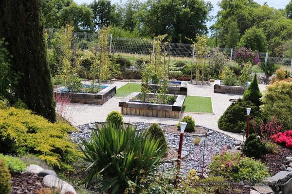 le jardin escale en Corrèze