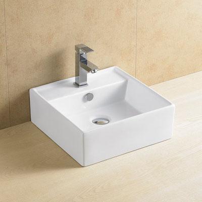 Lavabo Fénix Blanco 38x38x13 cm: 122 €