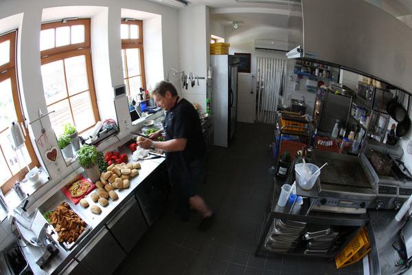 """Küche unter """"Dampf"""""""
