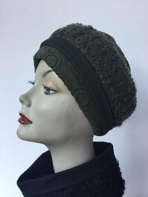 Wi 119h Stirnband mit doppelter Baumwolle (Krempe) - Vreni Lorenzini