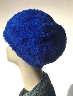 Wi 61 - Kopfbedeckung kaufen  - Artischocke gehäkelt weniger Volumen - ultramarin