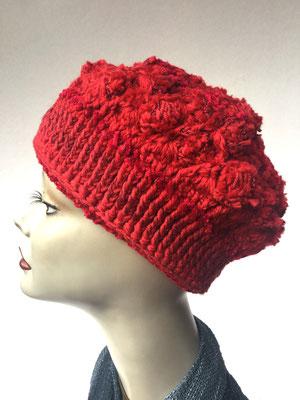 Wi 53 - Kopfbedeckungen nach Chemo - Winterrmodelle -  Artischocke gehäkelt