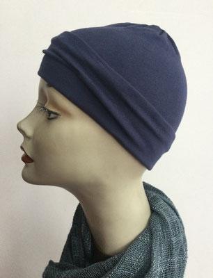G25 - Kopfbedeckungen kaufen - Baumwollchäppli fest - dunkelblau