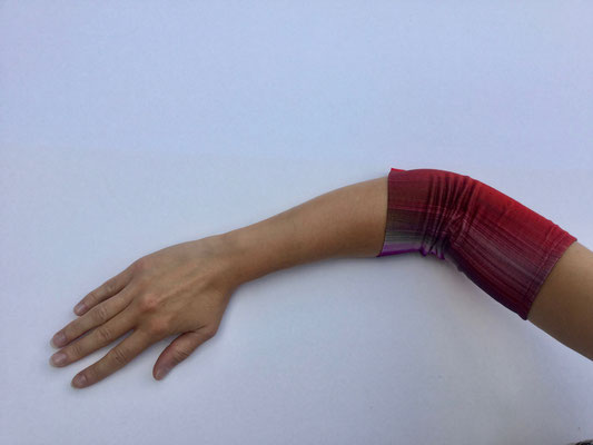 PICC 04 - Venenkatheter am Arm - weinrot