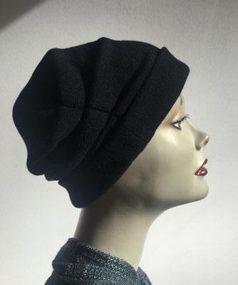 """Wi 32 - Turban """"Nizza"""" ohne Schlaufe - dunkelbraun - Kopfbedeckung kaufen"""