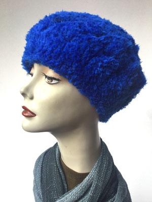 Wi 58 - Kopfbedeckungen nach Chemo - Winterrmodelle -  Artischocke gehäkelt