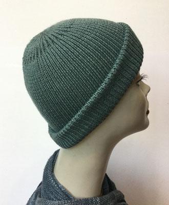 "Wi 99u - Vreni Lorenzini - Kopfbedeckungen kaufen- Wintermodelle - ""Aaregrün"""