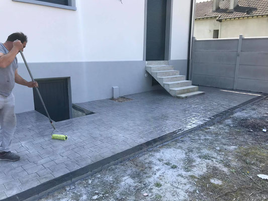 BetoSysteme Decor, beton imprime, Mitry-Mory 6