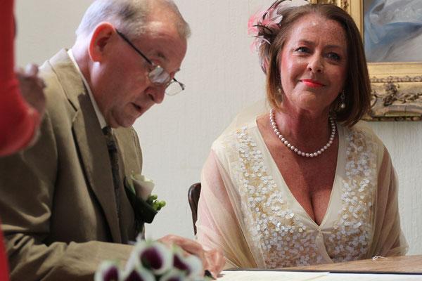 Jersey Wedding Signing