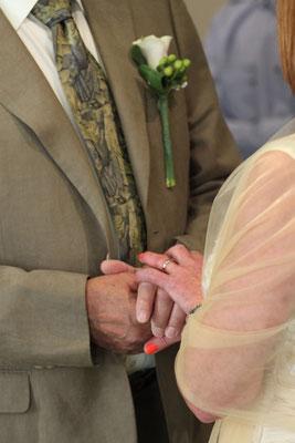 Jersey Wedding Hands