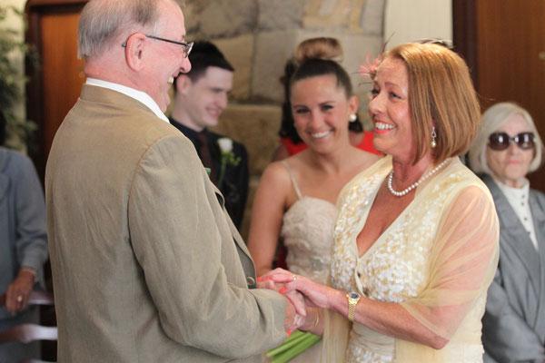 Jersey Wedding Embrace