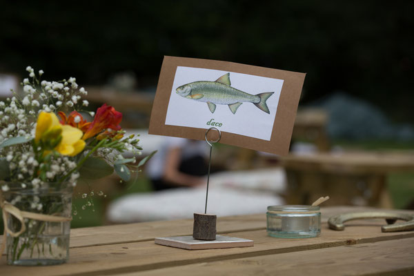 Festival Wedding Table Setting