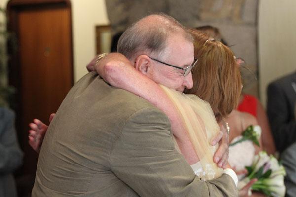 Jersey Wedding Hug