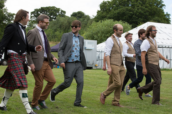 Festival Wedding Grooms Men