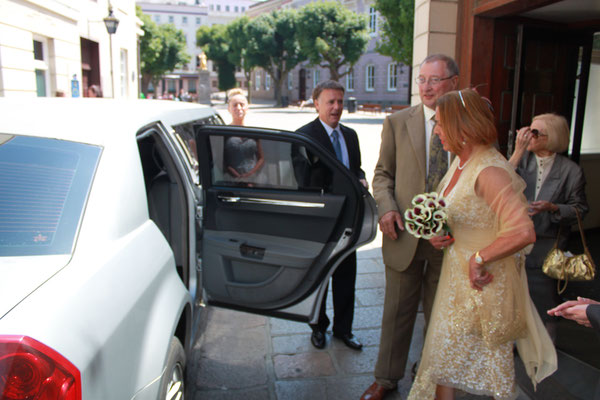Jersey Wedding Car