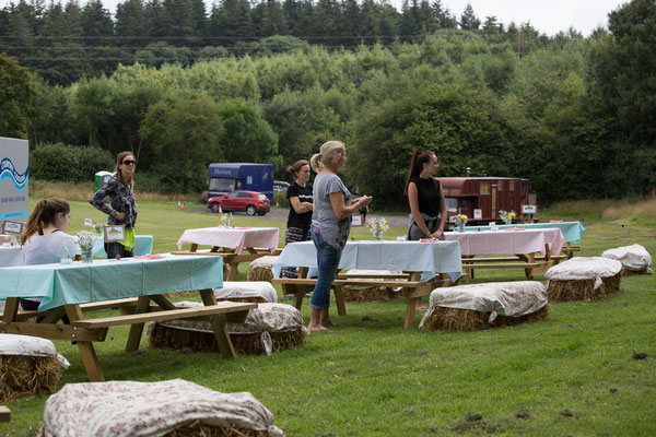 Festival Wedding Camping