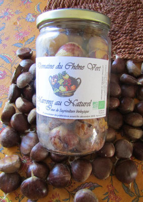MARRONS AU NATUREL pot de 430g