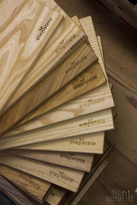 Kleinserie von Holzbrettern | verschiedene Holzsorten |