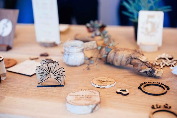 """Diverse Dekoration Präsentiert auf der Hochzeitsmesse """"Lovebirds"""""""