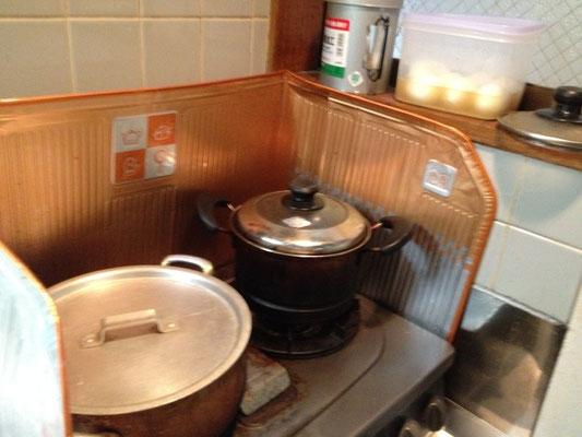 料理の準備