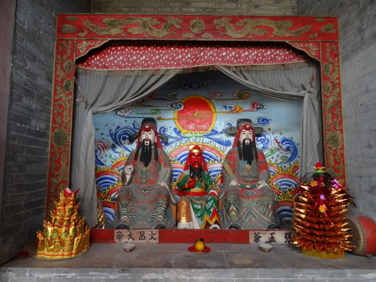 """Altar"" im Tempel."