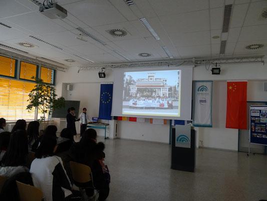 Vorstellung der Dongcheng-Schule und der Heimat.