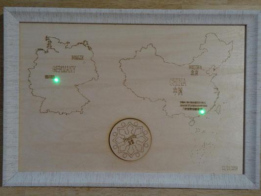 Beteiligte Schulen im geografischen Überblick.