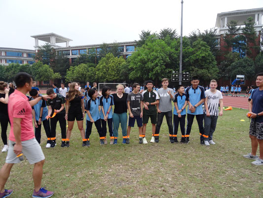 Sport und Spaß an der Junior Highschool.