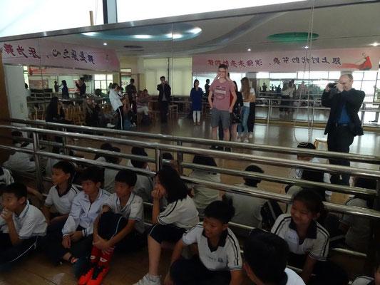 In der Songshan-Lake-Grundschule.