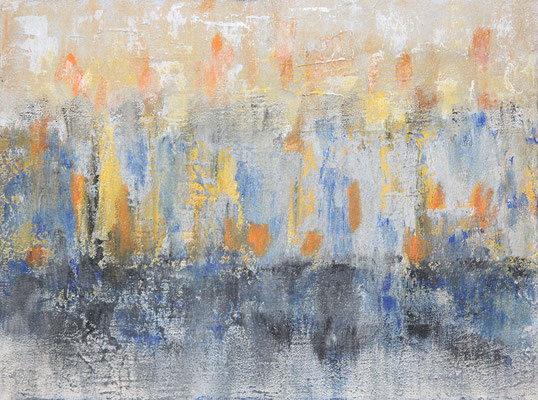 ohne Titel   2013   Acryl auf Leinwand   30 x 40 cm