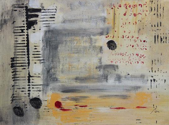 ohne Titel   2015   Acryl auf Leinwand   30 x 40 cm