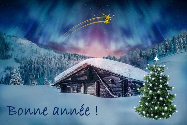 Bonne année au chalet