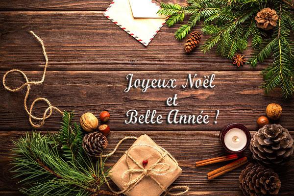 Voeux pour Noël et nouvel an