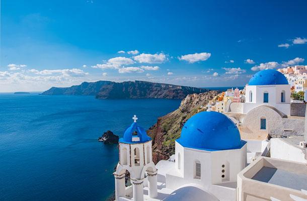 Eglise en bord de mer Grèce