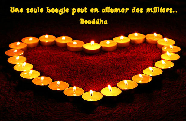 bougies de Bouddha