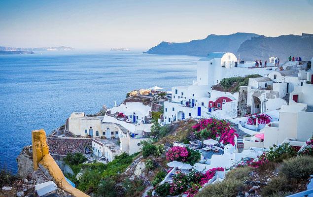 Village côtier en Grèce