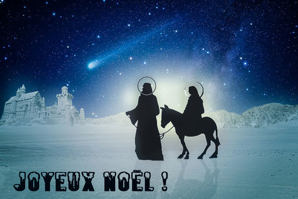 Noël avec Joseph et Marie