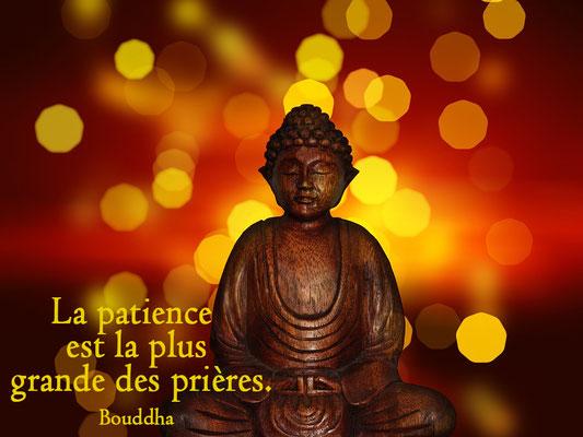 Bouddha de patience