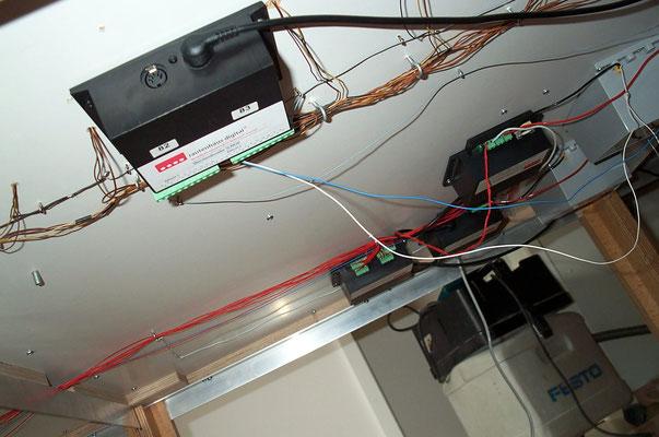 03.10.2007   Die hier gezeigte Anordnung der Rautenhaus-Komponenten hat sich später als etwas unpraktikabel erwiesen.
