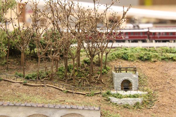 24.11.2013   Auch das Unterholz wurde nicht vergessen und wurde aus feinstem Geäst dargestellt.
